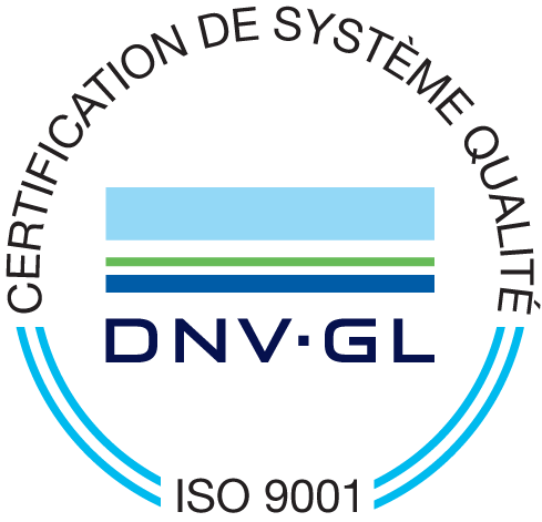Logo certification ISO-9001