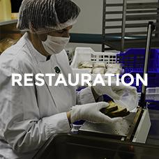 fabrication de repas pour collectivitéset repas de portage à domicile