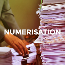 Numérisation, scan de documents